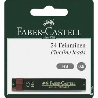 Faber Castell Fineline Leads Feinminen Super Polymer Härte HB 0.5mm