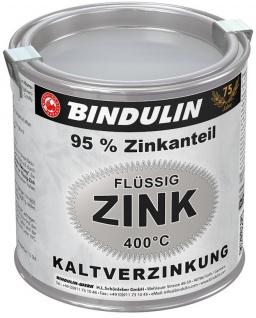 Flüssig-Zink Metalldose Farbe silber 750ml