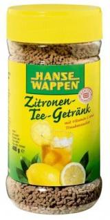 Hansewappen Zitronen Tee Getränk Getränkepulver mit Vitamin C 400g