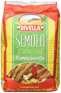 Divella Hartweizengrieß Semola di Grano duro Rimacinata 1000g