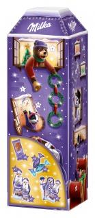 Milka 3D Haus Adventskalender köstliche Weihnachtsleckereien 229g