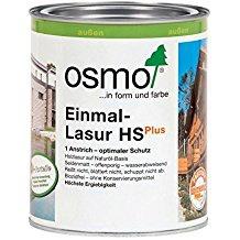 Osmo Einmal-Lasur HSPlus Skandinavisch-rot seidenmatt und transparent 2500ml