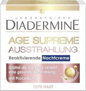 Diadermine Age Supreme Ausstrahlung Reaktivierende Nachtcreme 50ml