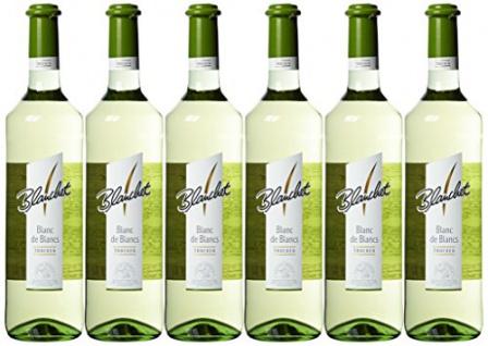 Blanchet Blanc de Blancs Tafelweißwein trocken fruchtig 6x750ml