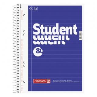 Collegeblock im DIN A5 Format mit linierten Blättern 80 Blatt