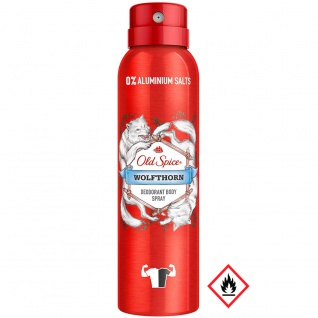 Old Spice Bodyspray Wolfthorn Manly Scent All Over 150ml 2er Pack