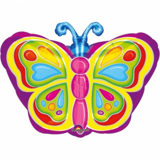 Strahlender Schmetterling