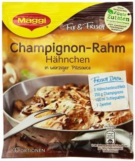 Maggi fix & frisch für Champignon-Rahm Hähnchen, 36 g