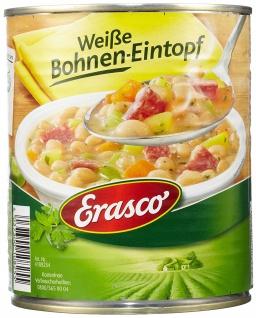 Erasco Weiße Bohnen-Eintopf, 3er Pack (3 x 800 g Dose)
