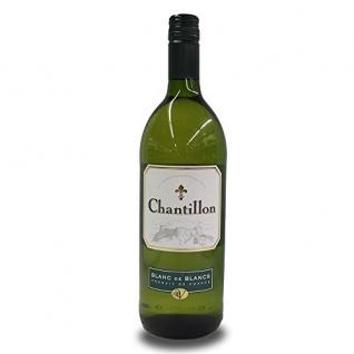 Chantillon Blanc de Blanc Vicomté d'Aumelas Weißwein trocken 1000ml