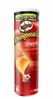 Pringles Original gesalzene Stapelchips für Veganer geeignet 190g