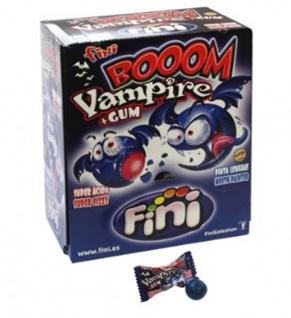 Bubble Gum Boom Vampir Hartkaramelle Kaugummi sauer 200 Stück Display