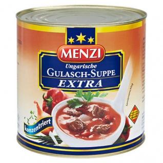 Menzi Ungarische Gulasch Suppe Extra konzentriert mit Rindfleisch 2500ml