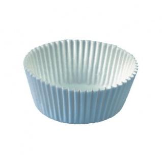 Muffin Cupcake Backförmchen weiß Papier von Papstar 200 Stück