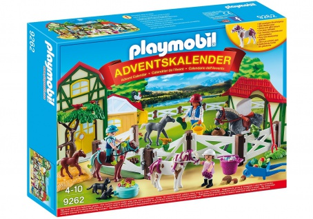playmobil Adventskalender Reiterhof für Kinder freigegeben ab 4 Jahren