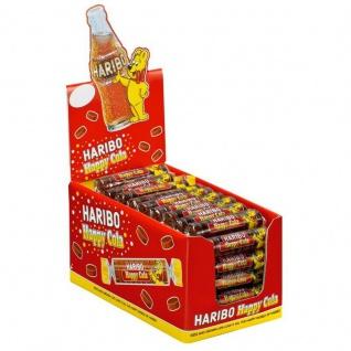 Haribo Happy Cola Rollen Fruchtgummirollen Cola Geschmack 50 Stück