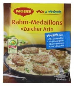 Maggi Fix & Frisch Rahm-Medaillons Züricher Art, 43g