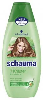 Schauma 7 Kräuter Shampoo, 400 ml