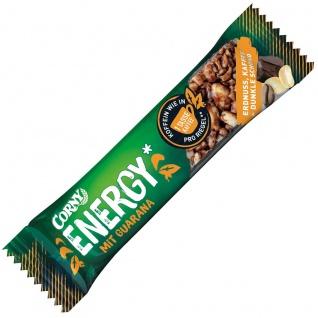 Corny Energy Riegel Erdnuss und Dunkle Schoko mit Guarana 40g
