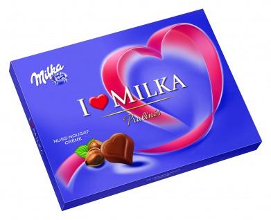 Milka I Love Milka Pralines Nuss-Nougat-Creme 110g