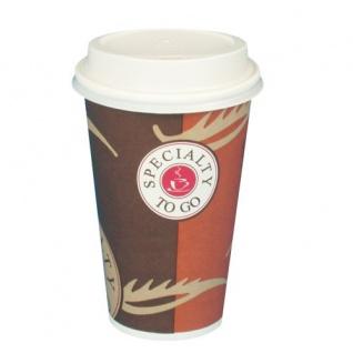 Papstar Trinkbecher Pappbecher Kaffeetasse Serie To Go 50 Stück