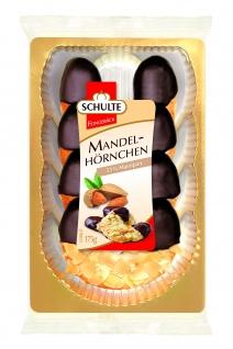 Schulte Mandelhörnchen mit 55 Prozent leckerem Marzipan 175g