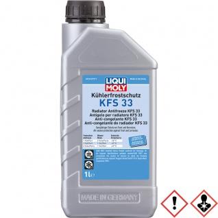 Liqui Moly Kühlerfrostschutz KFS 33 ganzjähriger Frost Schutz 1L