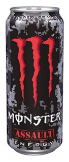 Monster Assault Erfrischungsgetränk mit Taurin und Guarana 500ml