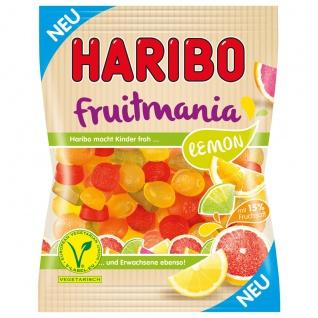 Haribo Fruitmania Lemon Fruchtgummi Mischung vegetarisch 6 x 175g