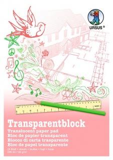 Transparentpapier wei