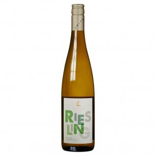 Weingut Leitz Riesling Rheingau feinherb und saftiger Weißwein 750 ml