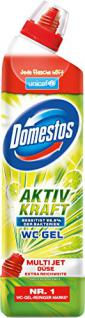 Domestos WC Gel Aktiv Kraft Reiniger Limette, 1er Pack (1 x 750 ml) - Vorschau