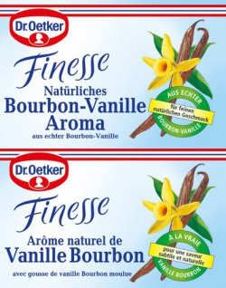Dr. Oetker Finesse Natürliches Bourbon-Vanille Aroma, 11er Pack (11 x 10g)