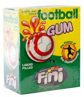 Bubble Gum Football Fußball Kaugummi Glutenfrei 200 Stück Display