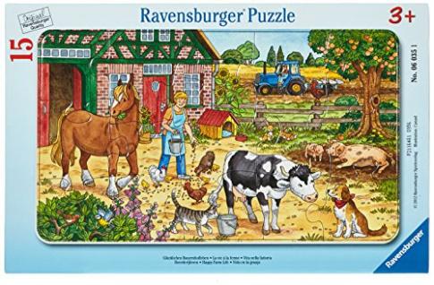 Ravensburger 06035 - Glückliches Bauernhofleben