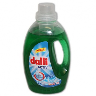 Dalli Aktiv Flüssigwaschmittel, 18WL 1, 35l
