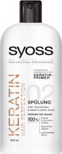 Syoss Keratin Hair Perfection Spülung, 3er Pack (3 x 500 ml) - Vorschau