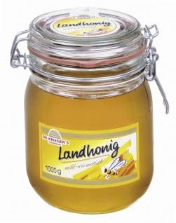 Dr Kriegers Landhonig mild aromatisch einer Brotaufstrich 1000g