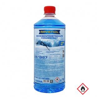 Ravenol Scheibenfrostschutz bis -60 C Citrus Duft Flasche 1000ml