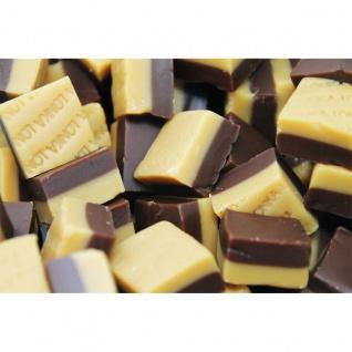 Fudge Duo Toffee Vanille Choco weiches Butter Karamell Konfekt 1000g