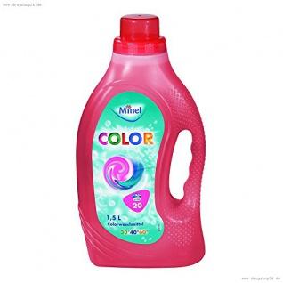 Minel Colorwaschmittel 1, 5 Liter, 20WL