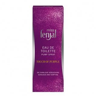 Miss Fenjal Eau de Toilette Touch of Purple orientalischer Duft 50ml - Vorschau 2