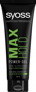 Schwarzkopf Syoss Haargel Styling Max Hold Power Gel Stark 250ml