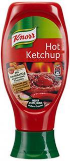 Knorr Ketchup Hot, 8er Pack (8 x 430 ml)