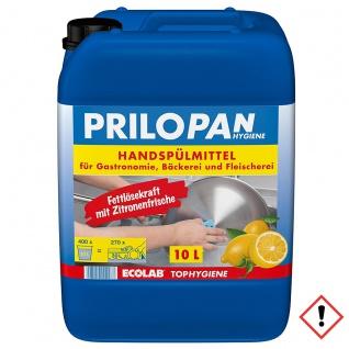 Prilopan Handspülmittel mit hoher Fettlösekraft und Zitrusduft 10000ml