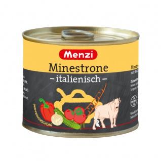Menzi Minestrone italienisch würzig mit mediterranem Gemüse 200ml