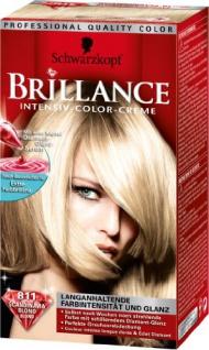 Schwarzkopf Brillance Intensiv-Color-Creme Stufe 3, 811 Skandinavia Blond