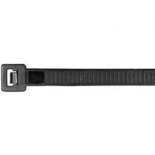 Aparoli Professionelle Kabelbinder 500 x 12.5 mm, 50 Stück wetterfest, schwarz