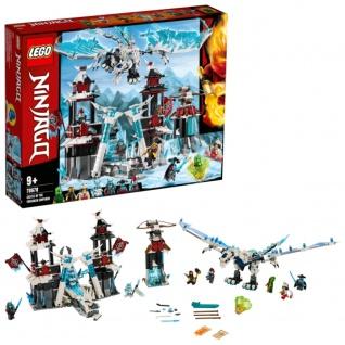 Lego Ninjago Ninja Action 70678 Festung im ewigen Eis Bauset
