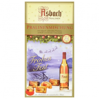 Asbach Alkoholhaltige Pralinenmischung mit Schokolade und Füllung 250g